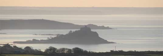 St Michaels Mount, Penzance, Cornwall