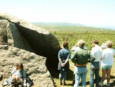 Zennor Quoit when the hummadruz was heard (1997)